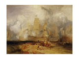 Second Sketch for 'The Battle of Trafalgar' Giclee Print by Joseph Mallord William Turner