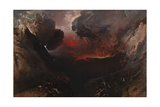 The Great Day of His Wrath Giclée-tryk af John Martin