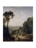 Crossing the Brook Giclee Print by Joseph Mallord William Turner