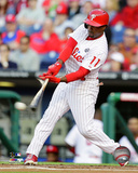Jimmy Rollins 2014 Action Photo