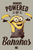 Despicable Me - Powered by Bananas Plakat