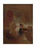 Music Party, East Cowes Castle Giclee Print by Joseph Mallord William Turner