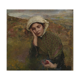 The Convalescent Giclee Print by Annie Louisa Swynnerton