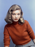 American Actress Lauren Bacall In the 40'S Photo