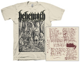 Behemoth - Lvcifer (Natural) T-Shirt