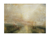 Yacht Approaching the Coast Giclee Print by Joseph Mallord William Turner