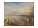 The New Moon; Or, 'I've Lost My Boat, You Shan't Have Your Hoop' Giclee Print by Joseph Mallord William Turner