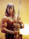 Conan the Destroyer, Arnold Schwarzenegger, by Richard Fleischer with, 1984 Photo