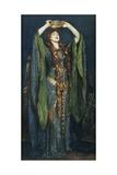 John Singer Sargent - Ellen Terry as Lady Macbeth - Giclee Baskı