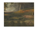 Landscape with Rainbow, Henley-On-Thames Giclee Print by Jan Siberechts