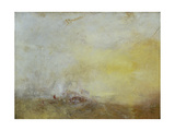Sunrise with Sea Monsters Giclee Print by Joseph Mallord William Turner