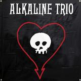 Alkaline Trio - Skull Heart Flag Print