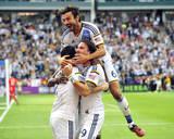 2014 MLS Cup Final: Dec 7, New England Revolution vs LA Galaxy - Landon Donovan, Andrew Farrell Photo by Gary A. Vasquez