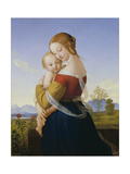 Madonna and Child Giclee Print by William Dyce