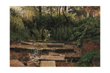 The Haunted Manor Giclee Print by William Holman Hunt
