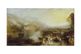The Opening of the Wallhalla, 1842 Giclee Print by John Martin