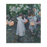 Carnation, Lily, Lily, Rose Giclee Print by John Singer Sargent