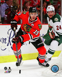 Jonathan Toews 2013-14 Playoff Action Photo