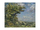 Stroud: an Upland Landscape Giclee Print by Philip Wilson Steer