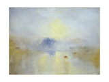 Norham Castle, Sunrise Giclée-trykk av J. M. W. Turner