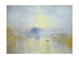 J. M. W. Turner - Norham Castle, Sunrise - Giclee Baskı