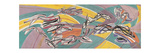 Fish in the Escoutay Giclee Print by Stanley William Hayter