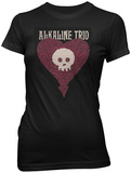 Juniors: Alkaline Trio - Heartskull Leaves T-shirts
