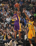 Los Angeles Lakers v Indiana Pacers Photo by Ron Hoskins