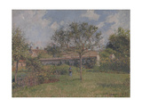 A Corner of the Meadow at Eragny Giclee Print by Camille Pissarro