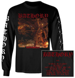 Long Sleeve: Bathory - Hammerheart T-Shirt