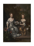 Portrait of Henrietta and Mary Hyde Giclee Print by Willem Wissing