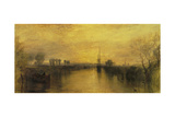 Chichester Canal Giclee Print by Joseph Mallord William Turner
