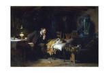 Sir Luke Fildes - The Doctor - Giclee Baskı