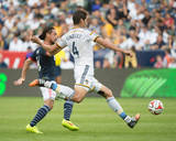 2014 MLS Cup Final: Dec 7, New England Revolution vs LA Galaxy - Daigo Kobayashi, Omar Gonzalez Photo by Kyle Terada