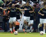 2014 MLS Cup Final: Dec 7, New England Revolution vs LA Galaxy - Andy Dorman, Omar Gonzalez Photo by Kelvin Kuo