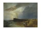 Littlehampton Pier Giclee Print by Sir Augustus Wall Callcott