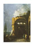 Maecenas' Villa, Tivoli Giclee Print by Richard Wilson