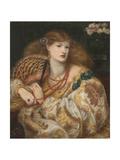 Monna Vanna Giclee Print by Dante Gabriel Rossetti