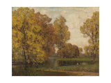 Golden Autumn Giclee Print by Sir Alfred East