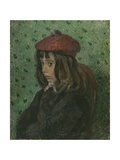 Portrait of Felix Pissarro Giclee Print by Camille Pissarro