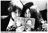 John Lennon & Yoko Ono – Selfridges London July 1971 Kunstdrucke