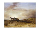 Sea Coast, Sunrise Giclee Print by John William Waterhouse