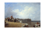 Dutch Coast Scene Giclee Print by Sir Augustus Wall Callcott