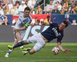 2014 MLS Cup Final: Dec 7, New England Revolution vs LA Galaxy - Andy Dorman, Robbie Keane Photo by Kyle Terada