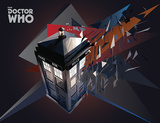 Doctor Who - TARDIS Geometric Masterprint