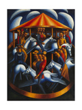 Merry-Go-Round Giclee Print by Mark Gertler