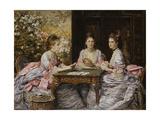 Hearts are Trumps Giclee Print by John Everett Millais