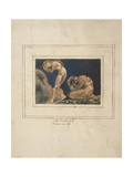 First Book of Urizen Pl. 17 Giclee Print by William Blake