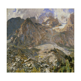 Val D'Aosta Giclee Print by John Singer Sargent