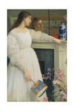 Symphony in White, No. 2: The Little White Girl Giclee Print by James Abbott McNeill Whistler